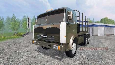 KamAZ-54115 [el camión] v1.3 para Farming Simulator 2015