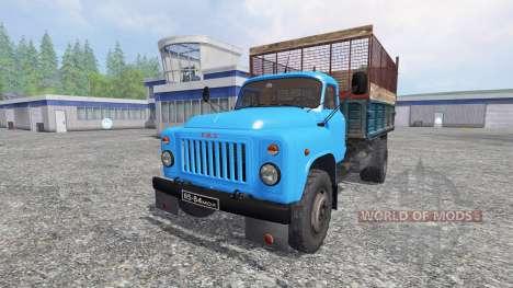 GAZ-53 [el silo] para Farming Simulator 2015