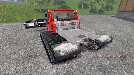 PistenBully 400 para Farming Simulator 2015
