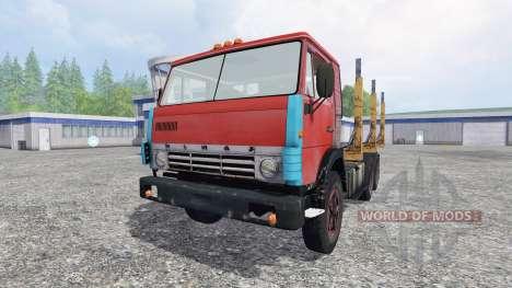 KamAZ 55102 [de madera] para Farming Simulator 2015