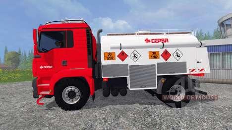 MAN TGA [CEPSA] v2.0 para Farming Simulator 2015