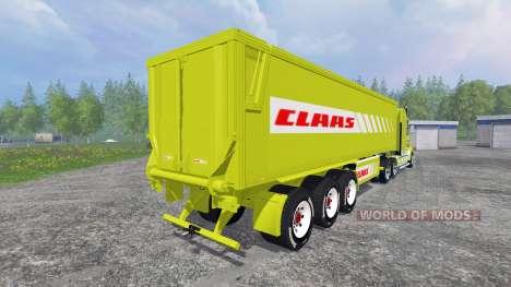 Kenworth T908 [CLAAS] para Farming Simulator 2015