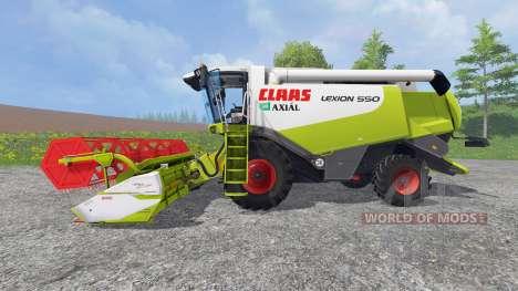 CLAAS Lexion 550 v1.0 para Farming Simulator 2015