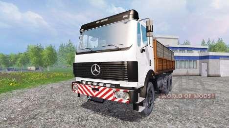 Mercedes-Benz 2435 [tipper] v0.2 para Farming Simulator 2015