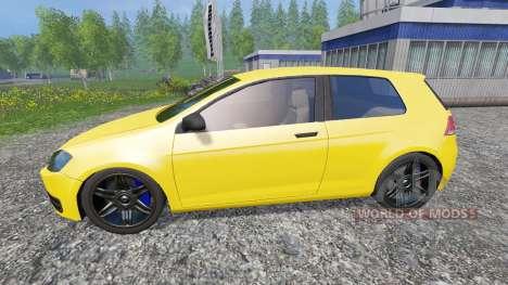 Volkswagen Golf VII v1.3 para Farming Simulator 2015