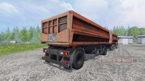 KamAZ-45143 [NefAZ 8560] para Farming Simulator 2015
