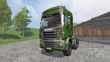 Scania R730 [euro farm] v1.2 para Farming Simulator 2015