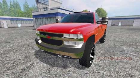 Chevrolet Silverado 2002 v2.0 para Farming Simulator 2015