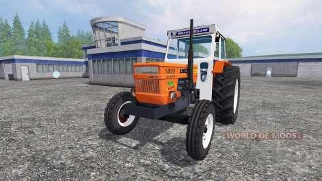 Fiat 1000 super para Farming Simulator 2015