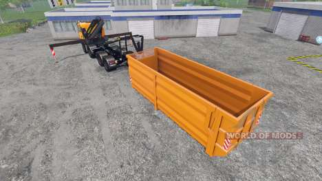 MAN TGA 28.430 [palfinger] para Farming Simulator 2015