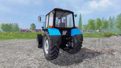 MTZ-Bielorrusia 82.1.26.30 para Farming Simulator 2015