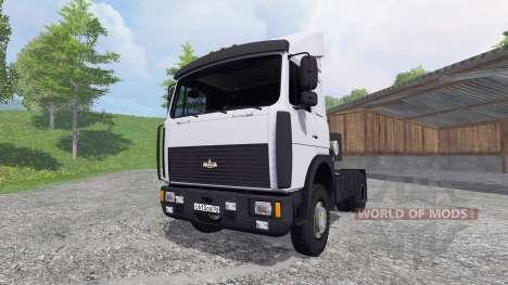 MAZ-5432 [blanco] para Farming Simulator 2015