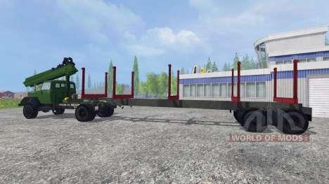 Magirus-Deutz 200D26 1964 [forest] para Farming Simulator 2015