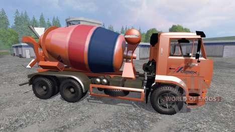 KamAZ-6520 [blender] para Farming Simulator 2015