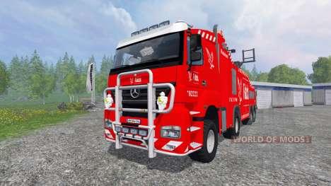 Mercedes-Benz Axor [wrecker] para Farming Simulator 2015