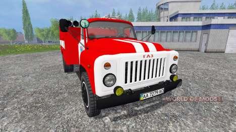 GAZ-53 AC-30 para Farming Simulator 2015