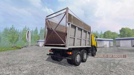 MAZ-5516 [multicolor] v2.0 para Farming Simulator 2015