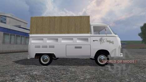 Volkswagen Transporter T2B 1972 [trailer] para Farming Simulator 2015