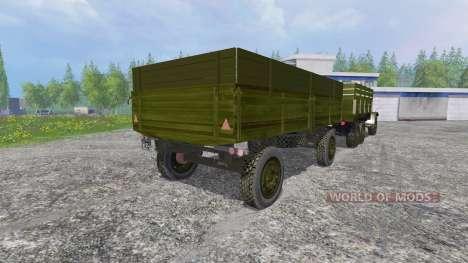 ZIL-157 [GKB-817] v4.0 para Farming Simulator 2015