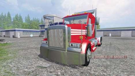 Kenworth W900 v3.0 para Farming Simulator 2015