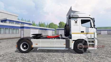 KamAZ-5490 para Farming Simulator 2015