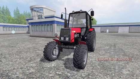 MTZ-Belarús 1025 v1.0 para Farming Simulator 2015