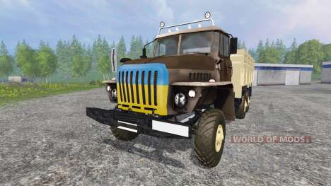 Ural-4320 [GKB-817] para Farming Simulator 2015