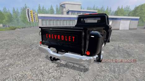 Chevrolet C10 Fleetside 1966 [tuning] v2.0 para Farming Simulator 2015