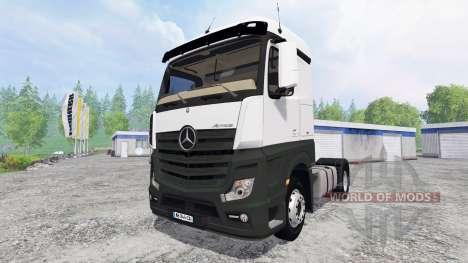 Mercedes-Benz Actros MP4 para Farming Simulator 2015