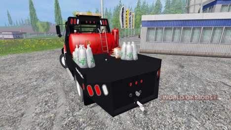 Mack CH612 [flatbed] v2.0 para Farming Simulator 2015