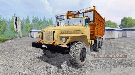 Ural-5557 v1.1 para Farming Simulator 2015