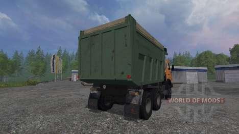 KamAZ-65115 v1.2 para Farming Simulator 2015