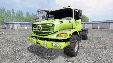 Mercedes-Benz Zetros 1833 para Farming Simulator 2015