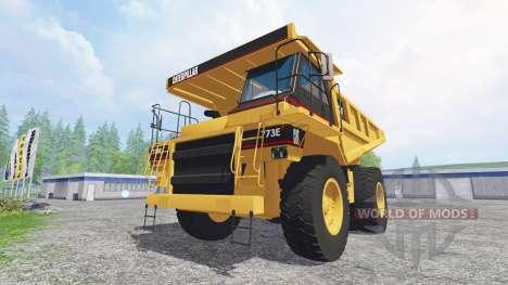 Caterpillar 773E para Farming Simulator 2015