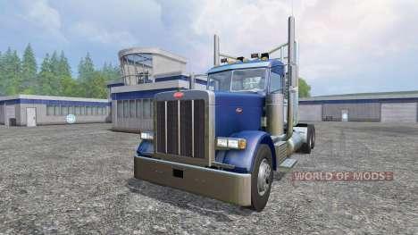 Peterbilt 379 2007 v1.1 para Farming Simulator 2015