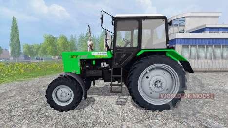 MTZ-82.1 Belarús [loader] v2.0 para Farming Simulator 2015