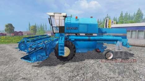 Bizon Z058 [record blue] para Farming Simulator 2015