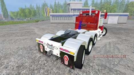 Kenworth T440 v5.0 para Farming Simulator 2015