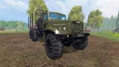 KrAZ-255 B1 [madera] v2.0