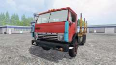 KamAZ 55102 [de madera]