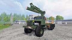 KrAZ-255 B1 [madera] v2.5