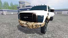 Ford F-250 [dually swamp camo]