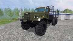 KrAZ-255 B1 [de madera]