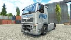 Hartmann Transporte de la piel para camiones Volvo para Euro Truck Simulator 2