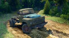 GAZ-52 en el chasis GAZ-63 [13.04.15] para Spin Tires