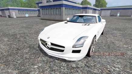 Mercedes-Benz SLS AMG para Farming Simulator 2015