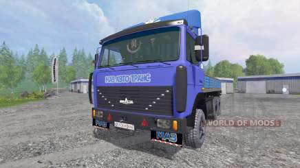 MAZ-4370 [pack] para Farming Simulator 2015