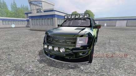 Ford F-150 Raptor [Halo Edition] v1.1 para Farming Simulator 2015