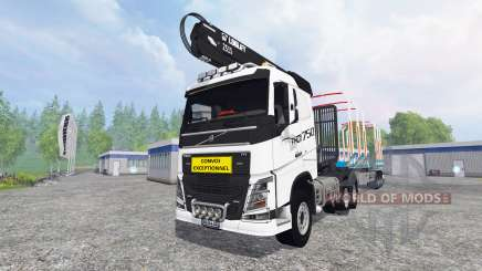 Volvo FH16 750 [forest] para Farming Simulator 2015