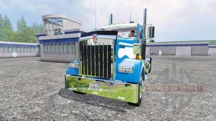 Kenworth W900L para Farming Simulator 2015